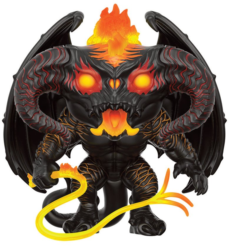 Lord of the Rings Super Sized POP! Movies Vinyl Figure Balrog 15 cm
