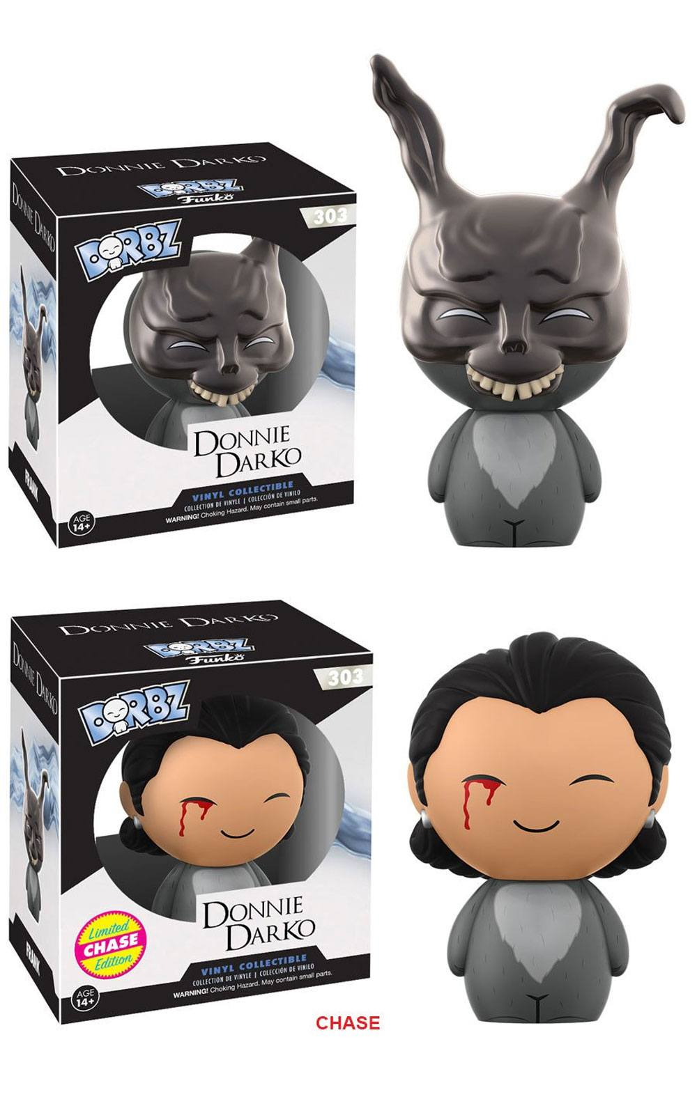 Donnie Darko Vinyl Sugar Dorbz Vinyl Figures Frank 8 cm Assortment (6)