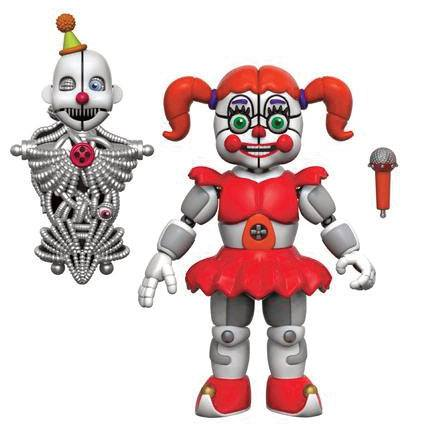 Five Nights at Freddy's Action Figure Baby Sister Location 13 cm