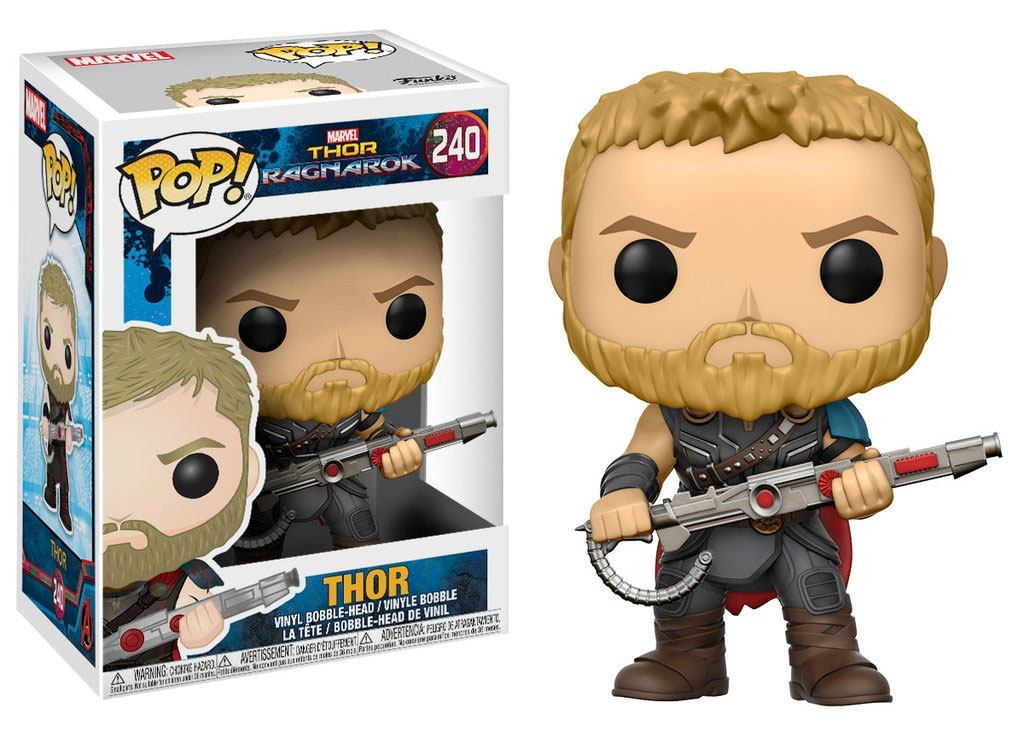 Thor Ragnarok POP! Movies Vinyl Figure Thor 9 cm