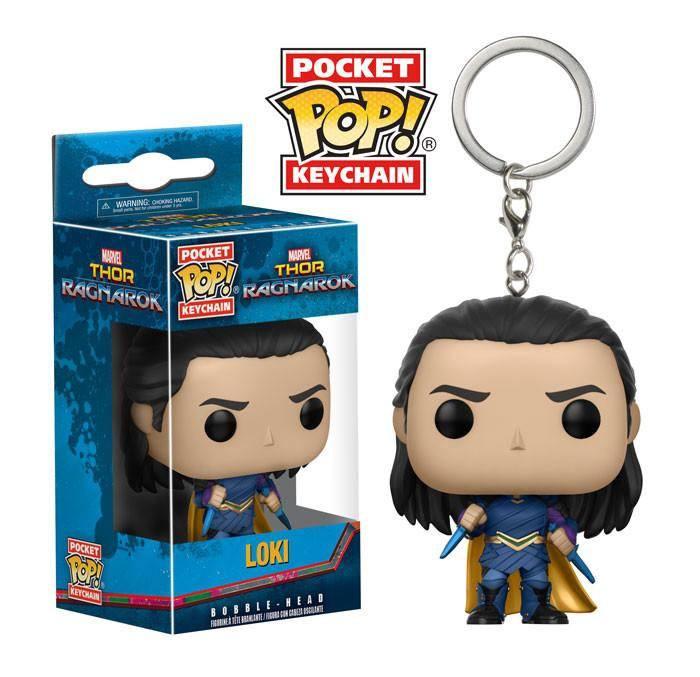 Thor Ragnarok Pocket POP! Vinyl Keychain Loki 4 cm