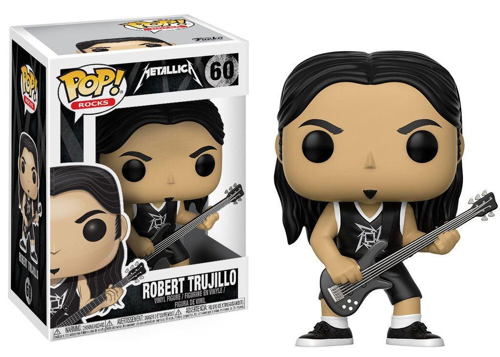 Metallica POP! Rocks Vinyl Figure Robert Trujillo 9 cm
