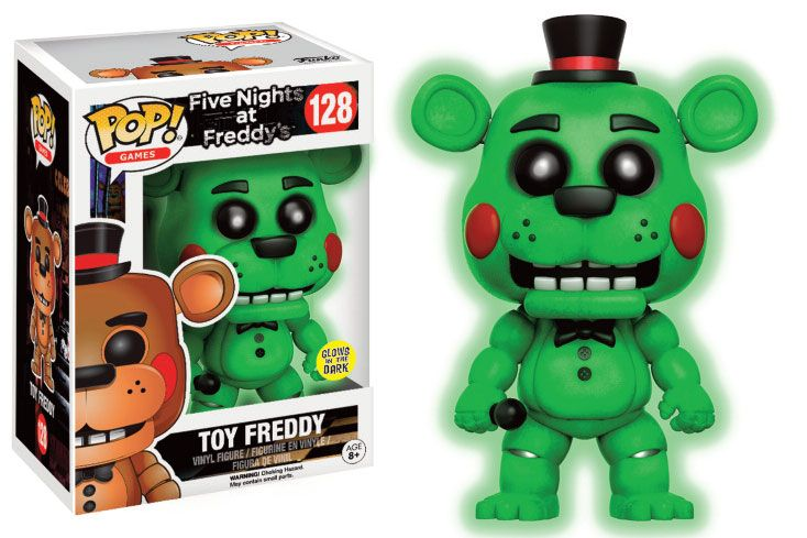 Five Nights at Freddy's POP! Games Vinyl Figure Toy Freddy GITD 9 cm