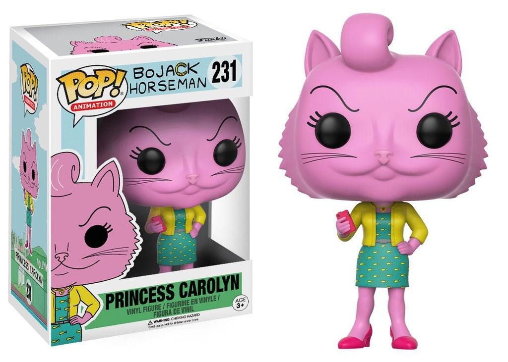 BoJack Horseman POP! Animation Vinyl Figure Princess Carolyn 9 cm