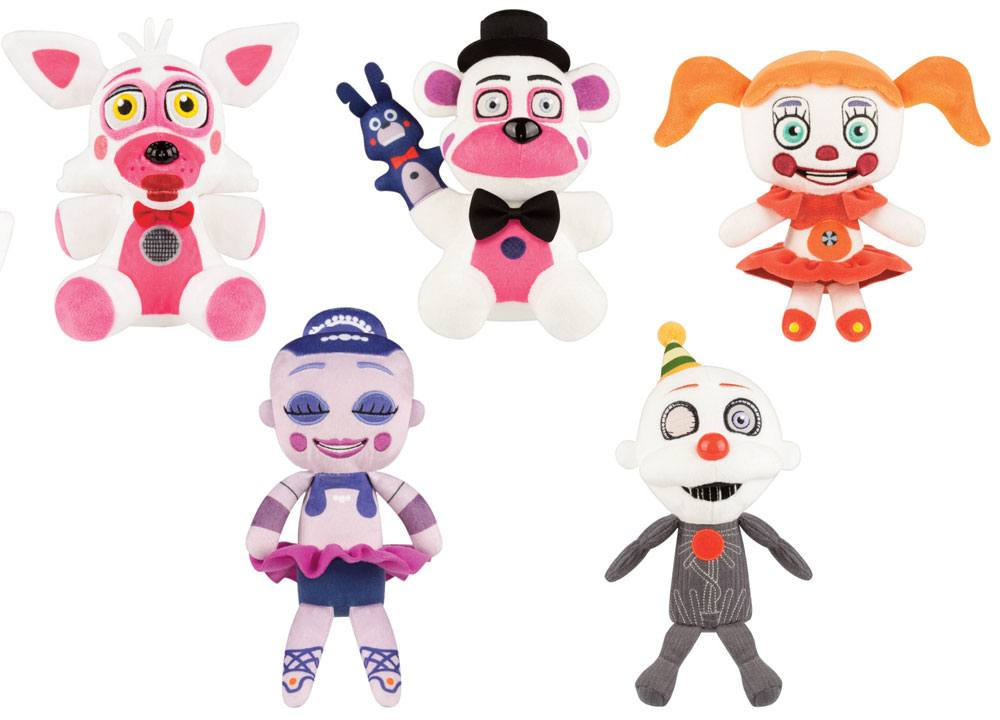Five Nights at Freddy's Plush Figure 18 - 20 cm Display Sister Location (9)