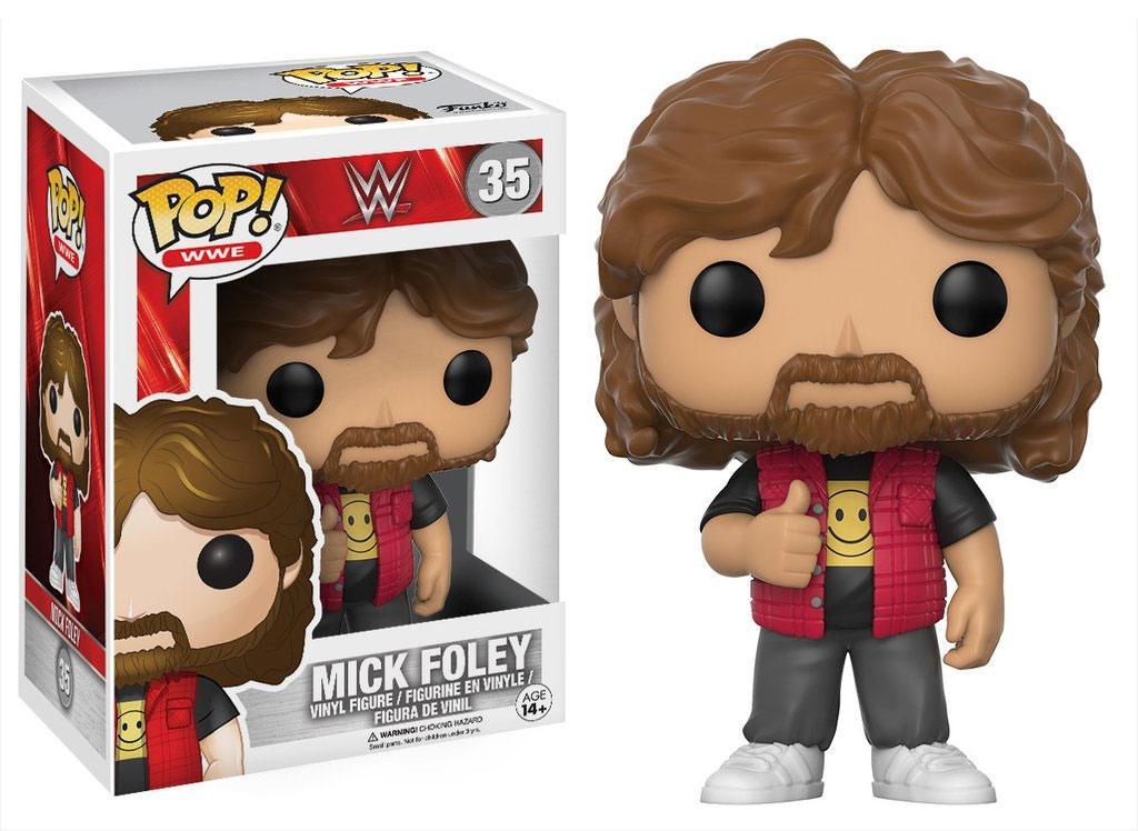 WWE Wrestling POP! WWE Vinyl Figure Mick Foley 9 cm