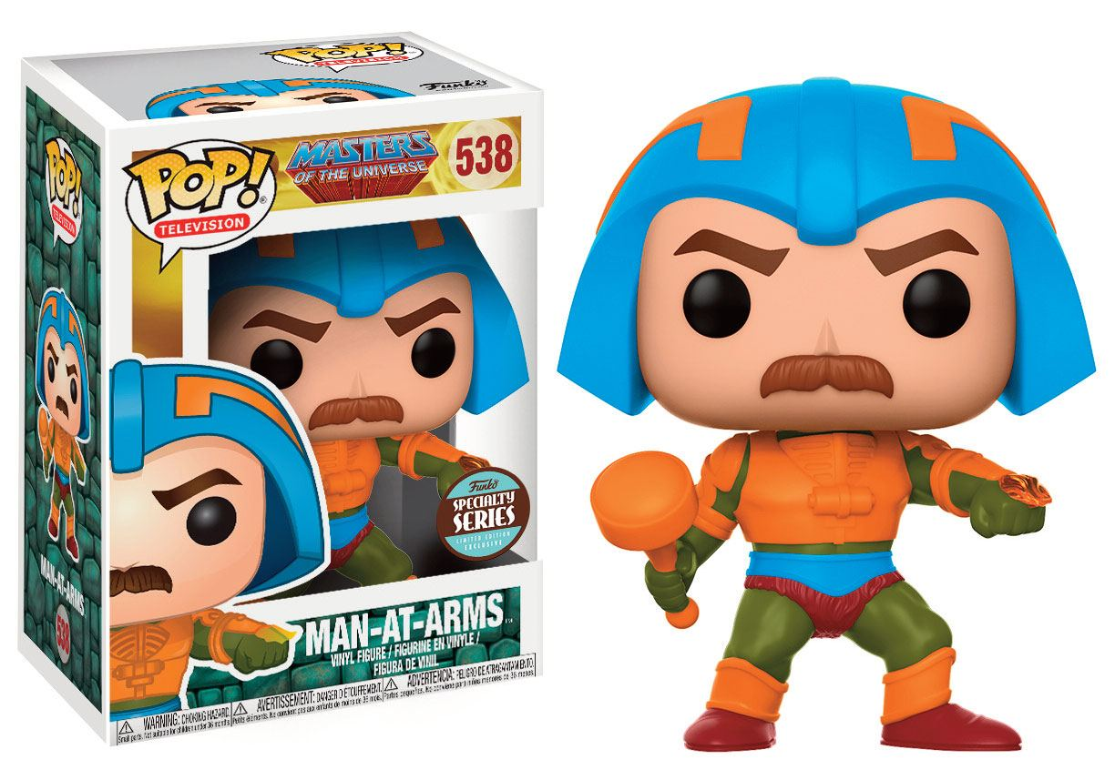 Masters of the Universe POP! Television Vinyl Figure Speciality Series Man-At-Arms 9 cm