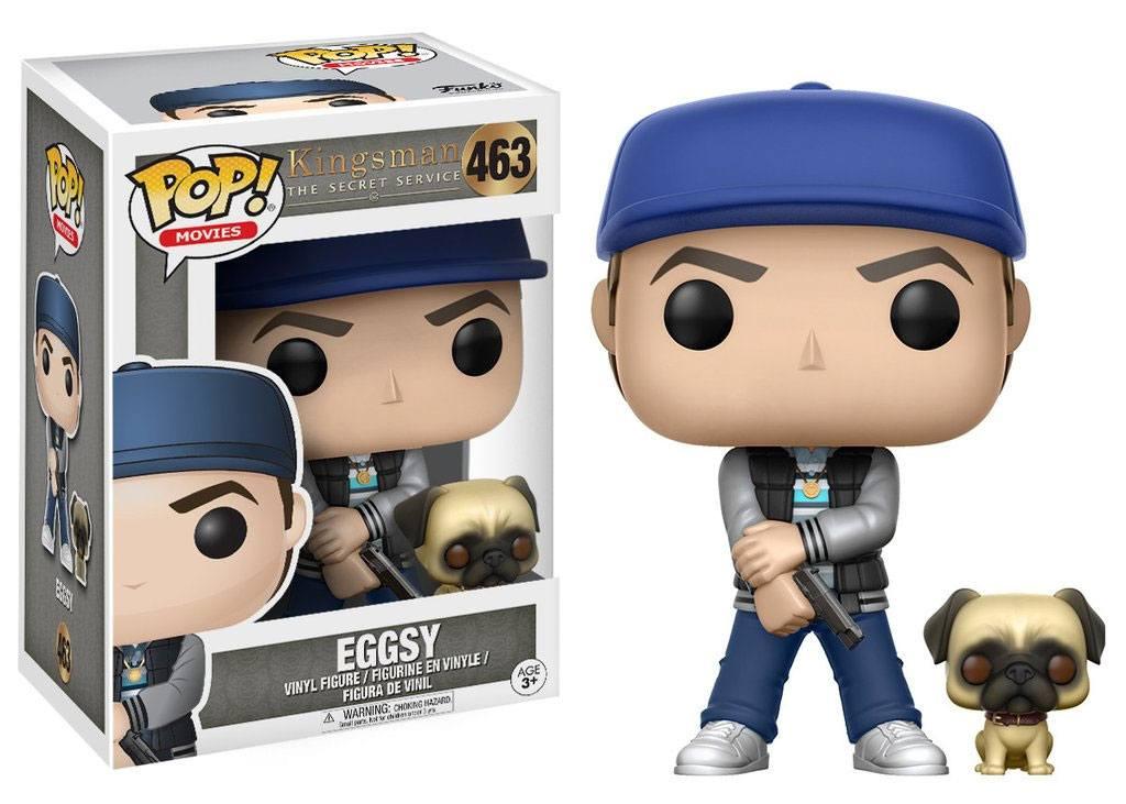 Kingsman The Secret Service POP! Movies Vinyl Figure Eggsy 9 cm