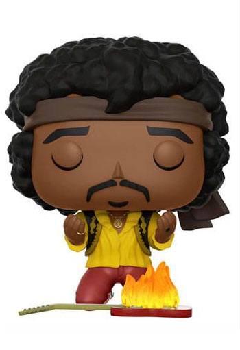 Jimi Hendrix POP! Rocks Vinyl Figure Jimi (Monterey) 9 cm