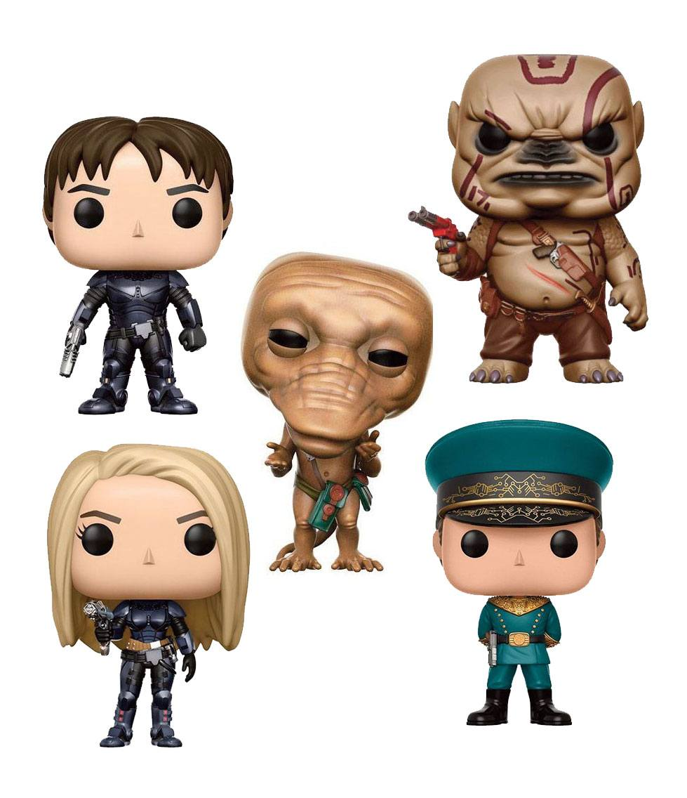 Valerian and the City of a Thousand Planets POP! Movies Figures 9 cm Assortment (6)