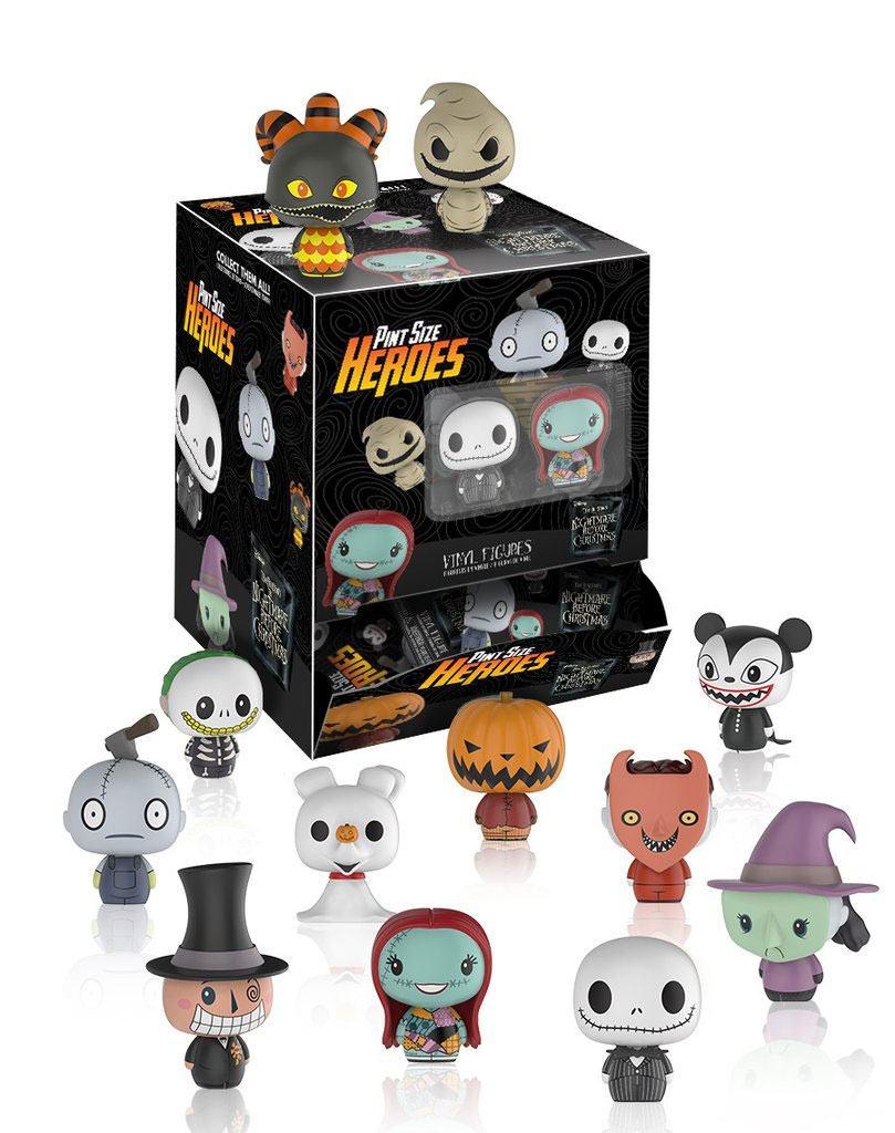 Nightmare Before Christmas Pint Size Heroes Mini Figures 6 cm Display (24)