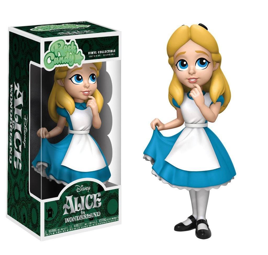 Alice in Wonderland Rock Candy Vinyl Figure Alice 13 cm