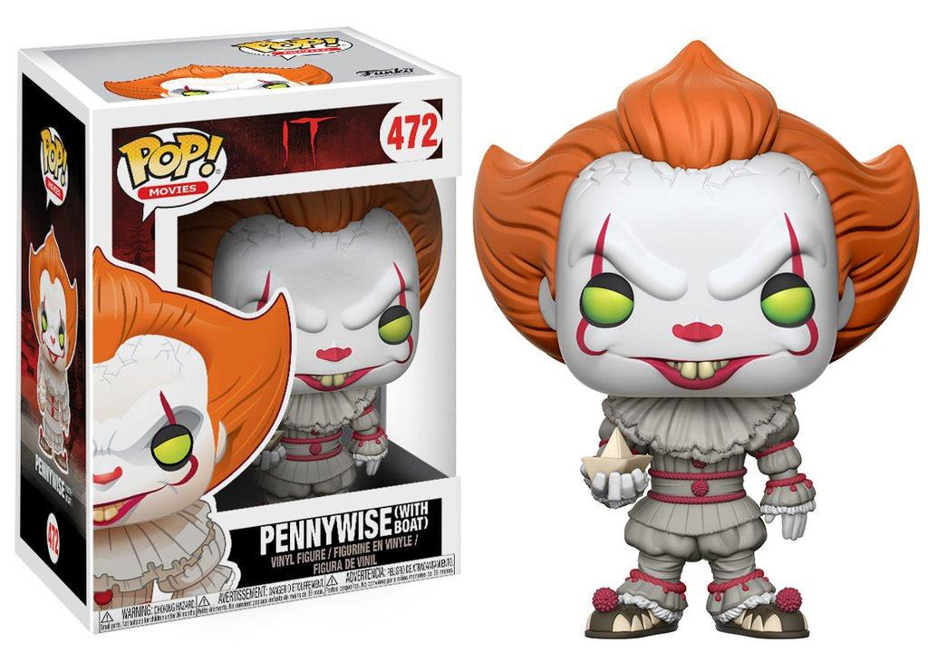 It POP! Movies Vinyl Figure Pennywise (with Boat) 9 cm