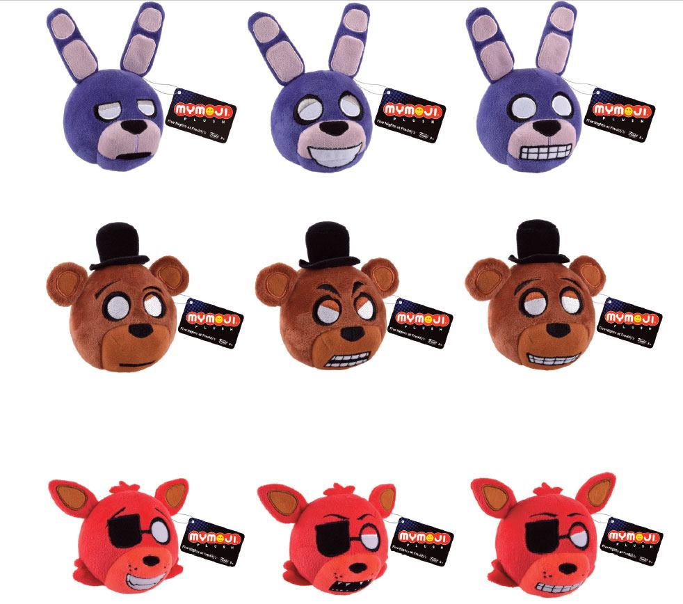 Five Nights at Freddy's Mymoji Plush Figure 8 cm Assortment (15)