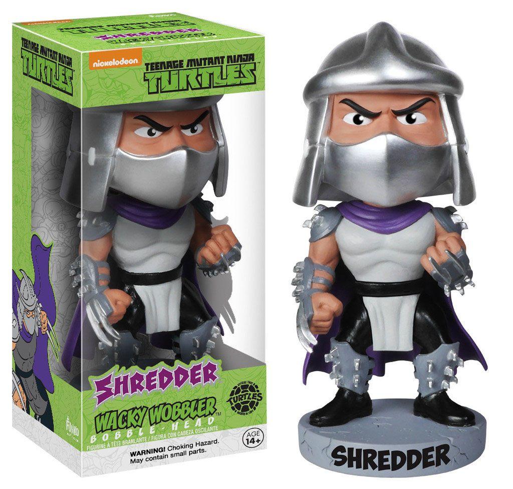 Teenage Mutant Ninja Turtles Wacky Wobbler Bobble-Head Shredder 15 cm