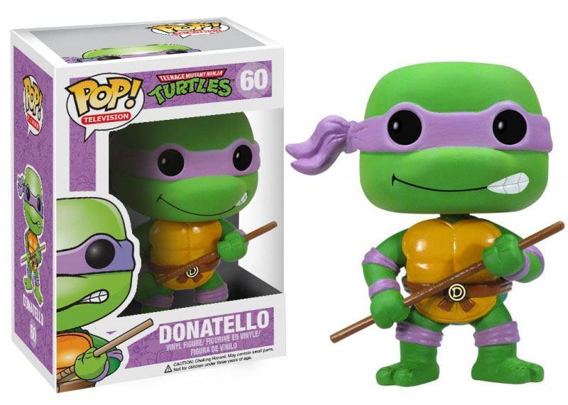 Teenage Mutant Ninja Turtles POP! Vinyl Figure Donatello 10 cm