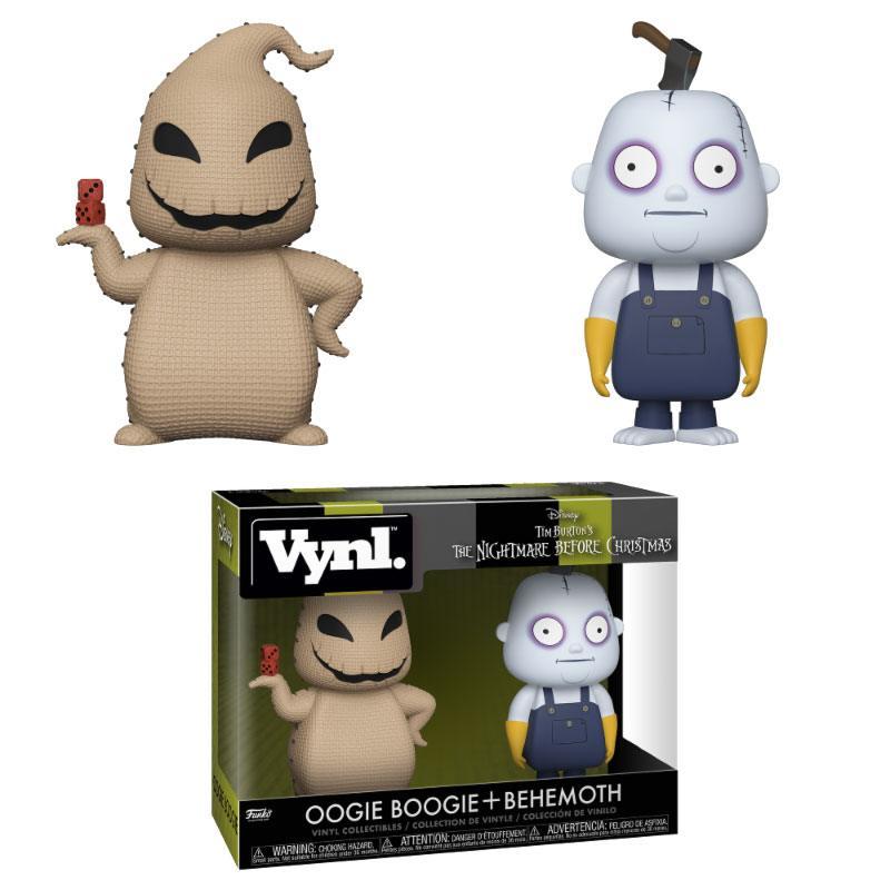 Nightmare Before Christmas VYNL Vinyl Figures 2-Pack Oogie Boogie & Behemoth 10 cm