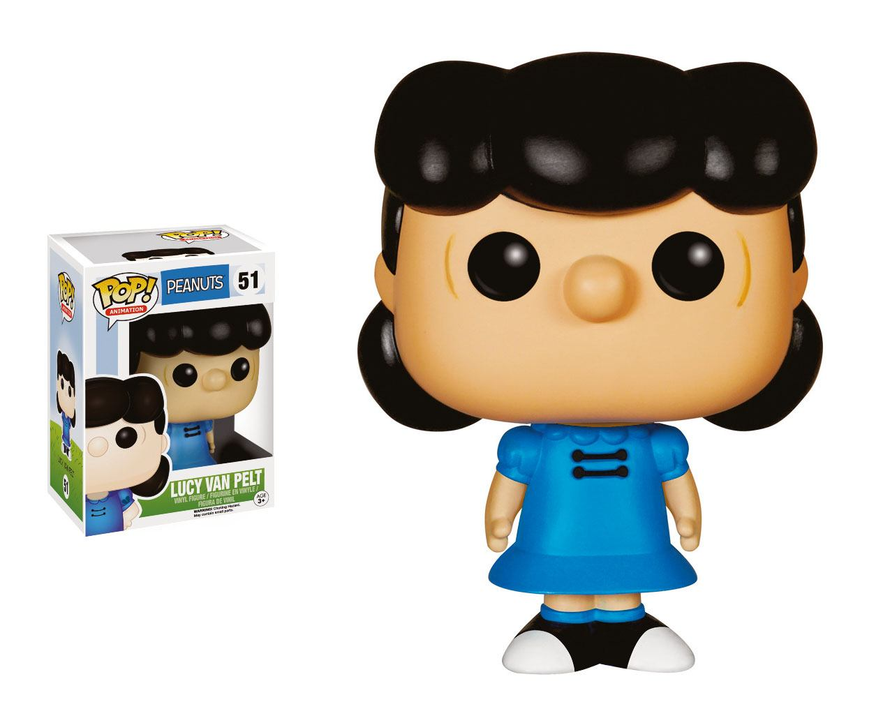 Peanuts POP! Animation Vinyl Figure Lucy 9 cm