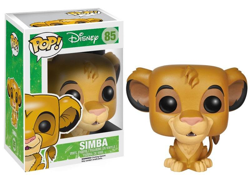 The Lion King POP! Vinyl Figure Simba 10 cm