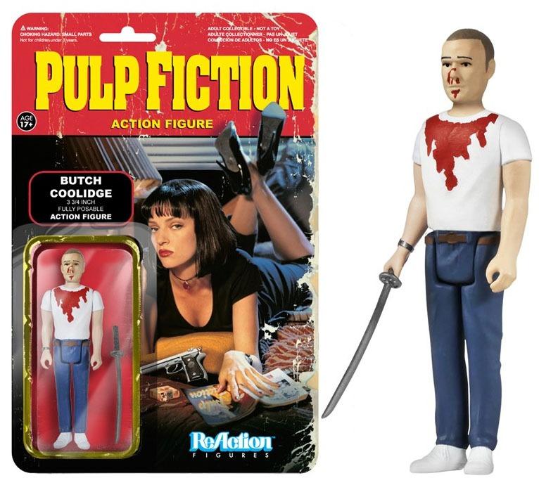 Pulp Fiction ReAction Action Figure Wave 2 Butch 10 cm