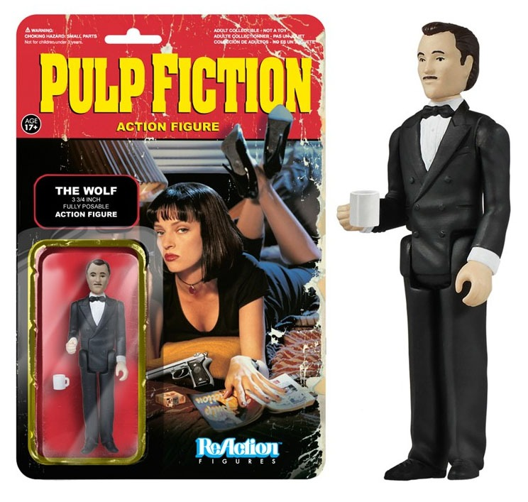 Pulp Fiction ReAction Action Figure Wave 2 The Wolf 10 cm
