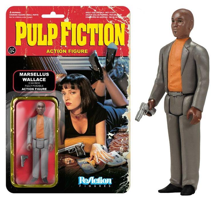 Pulp Fiction ReAction Action Figure Wave 2 Marsellus Wallace 10 cm