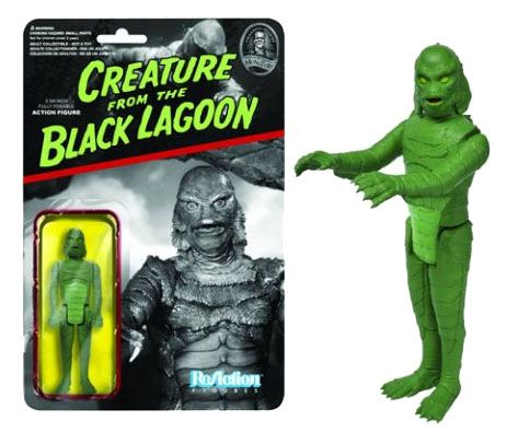 Universal Monsters ReAction Action Figure Wave 1 Creature from the Black Lagoon 10 cm Case (6)