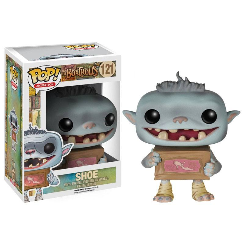 The Boxtrolls POP! Vinyl Figure Shoe 10 cm