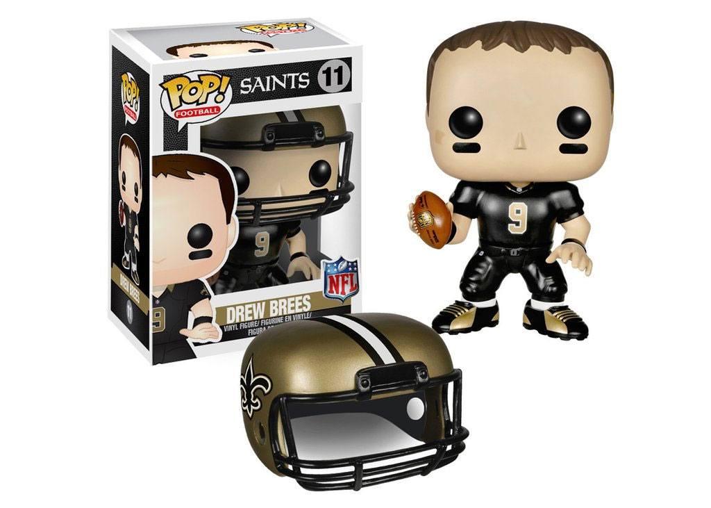 NFL POP! Football Vinyl Figure Drew Brees (Saints) 9 cm
