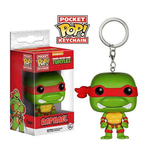 Teenage Mutant Ninja Turtles POP! Vinyl Keychain Raphael 4 cm