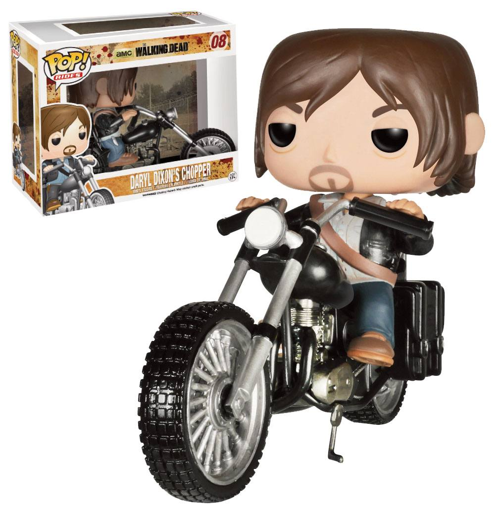 The Walking Dead POP! Vinyl Figure Daryl Dixon´s Chopper 12 cm