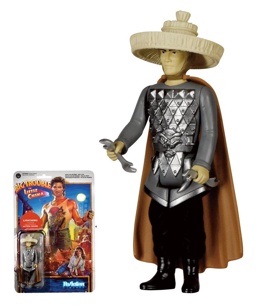 Big Trouble in Little China ReAction Action Figure Lightning 10 cm
