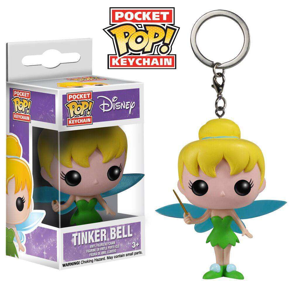 Disney Pocket POP! Vinyl Keychain Tinkerbell 4 cm
