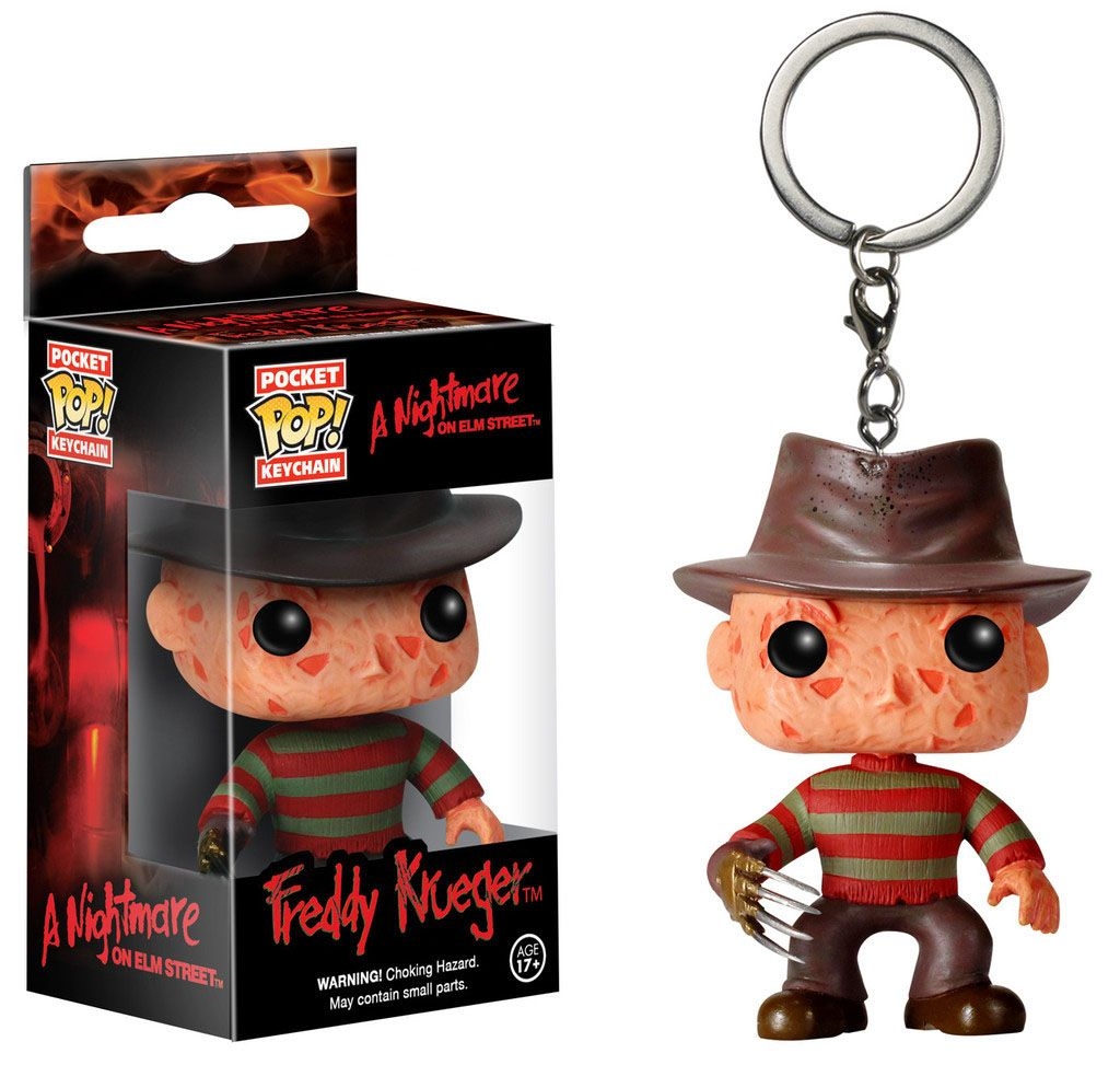 A Nightmare on Elm Street Pocket POP! Vinyl Keychain Freddy Krueger 4 cm