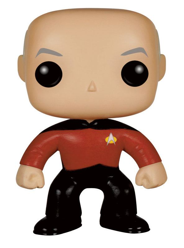 Star Trek TNG POP! Vinyl Figure Captain Picard 9 cm