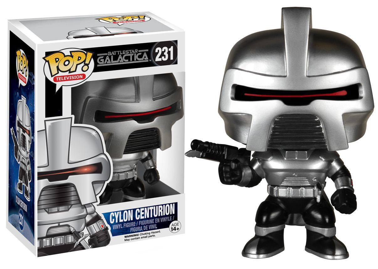 Battlestar Galactica POP! Television Vinyl Figure Cylon Centurion 9 cm