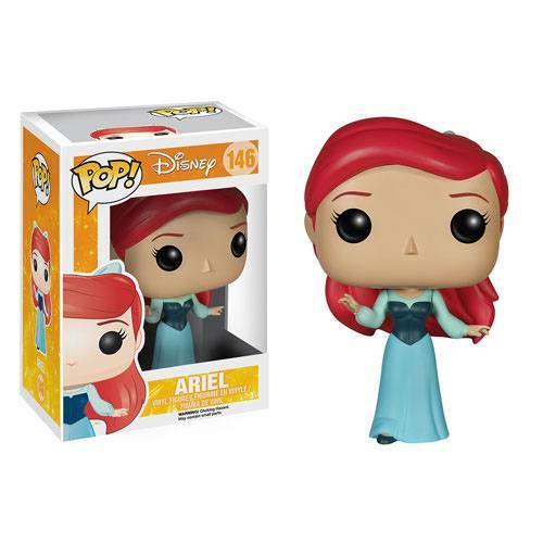 The Little Mermaid POP! Disney Vinyl Figure Ariel in Blue Dress 9 cm