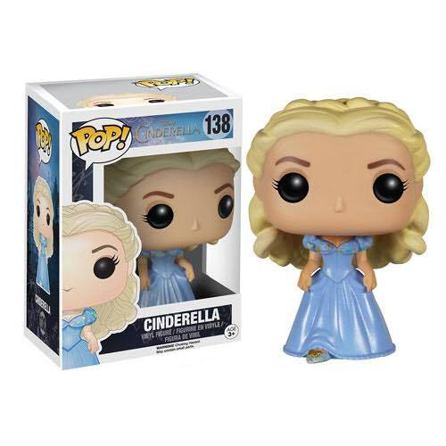 Cinderella POP! Vinyl Figure Cinderella 9 cm