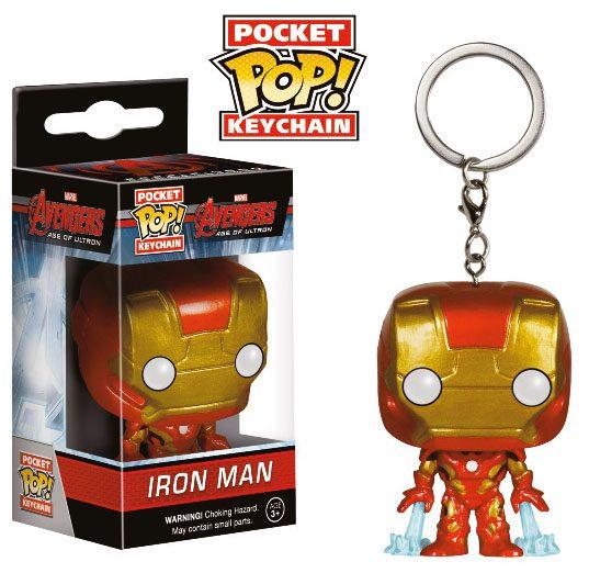 Avengers Age of Ultron POP! Vinyl Keychain Iron Man 4 cm