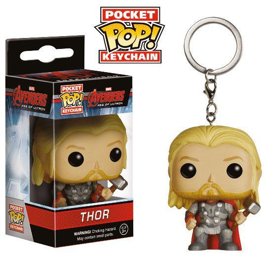 Avengers Age of Ultron POP! Vinyl Keychain Thor 4 cm