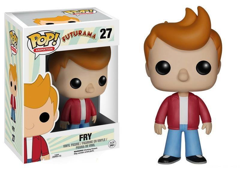 Futurama POP! Television Vinyl Figure Fry 9 cm