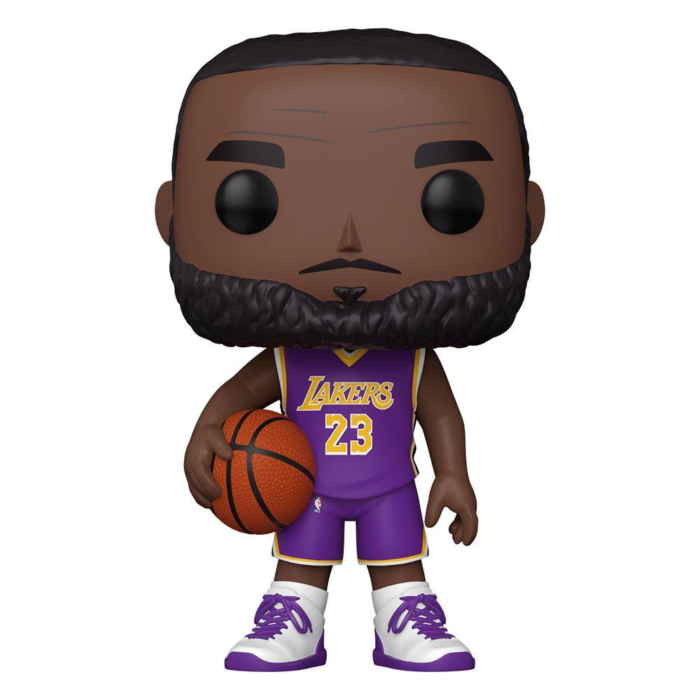 "FIGURA POP NBA: LEBRON JAMES (PURPLE JERSEY) SUPERSIZED 10"""