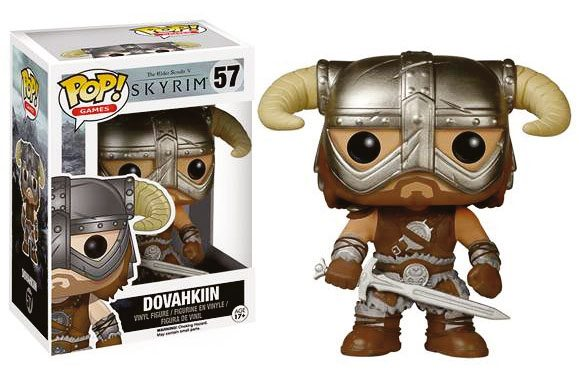 The Elder Scrolls V Skyrim POP! Games Vinyl Figure Dovahkin 9 cm