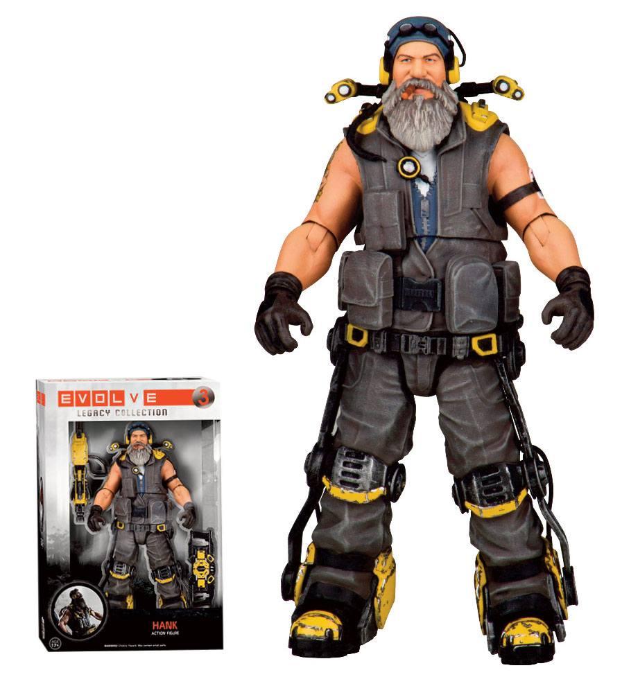 Evolve Legacy Collection Action Figure Hank 15 cm