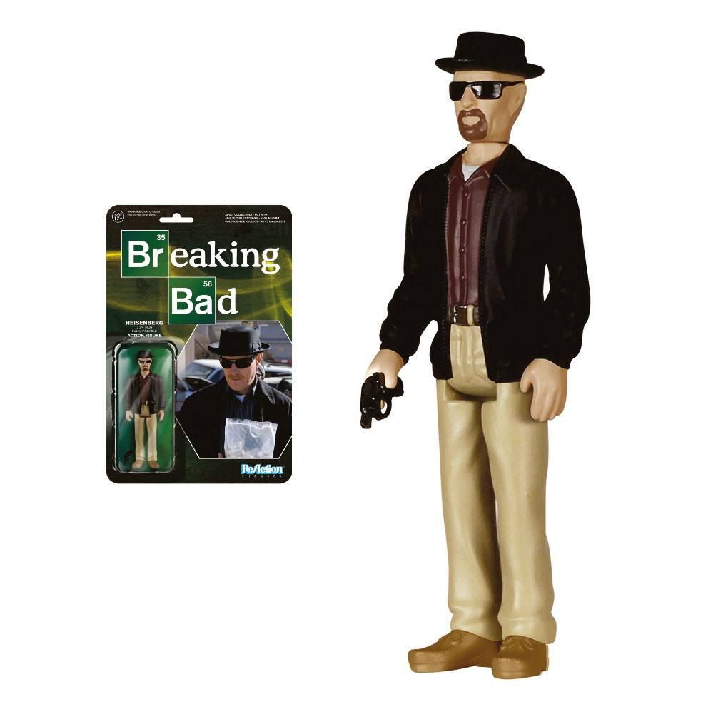 Breaking Bad ReAction Action Figure Heisenberg 10 cm