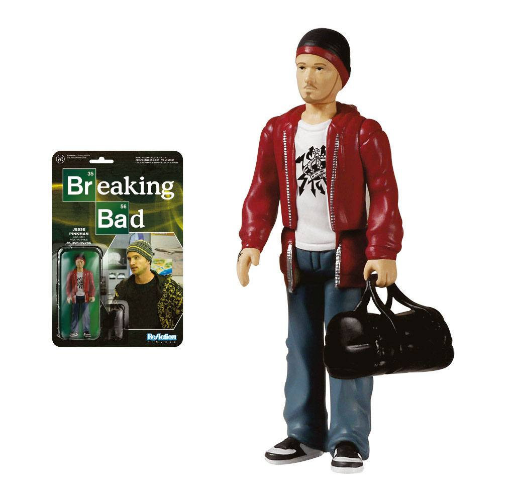 Breaking Bad ReAction Action Figure Jesse Pinkman 10 cm --- DAMAGED PACKAGING