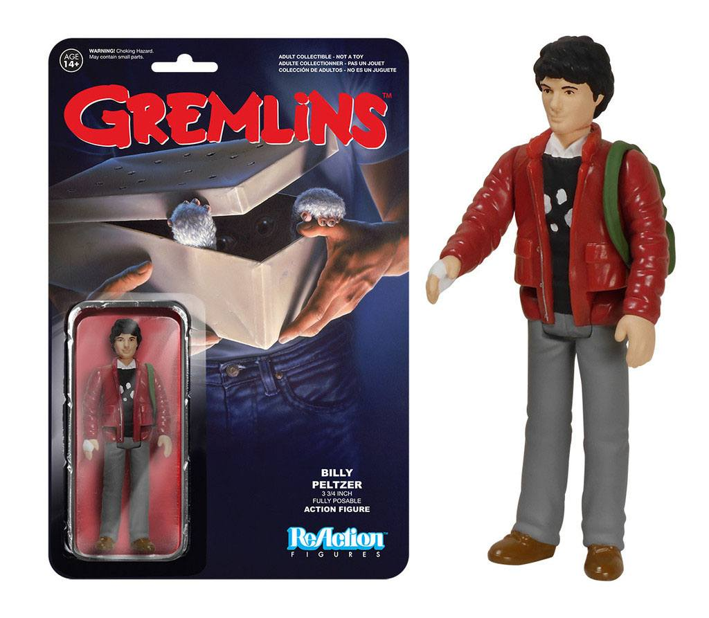 Gremlins ReAction Action Figure Billy Peltzer 10 cm