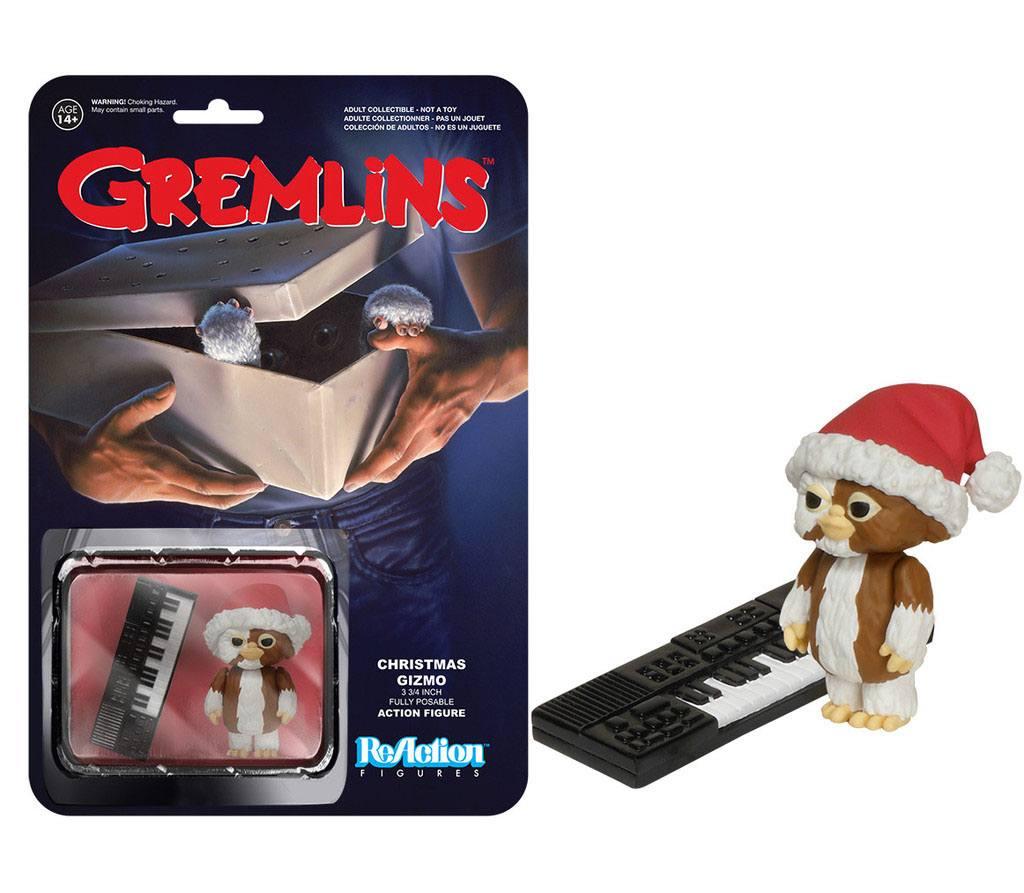 Gremlins ReAction Action Figure Christmas Gizmo 5 cm