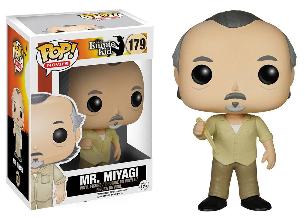 The Karate Kid POP! Movies Vinyl Figure Mr. Miyagi 10 cm