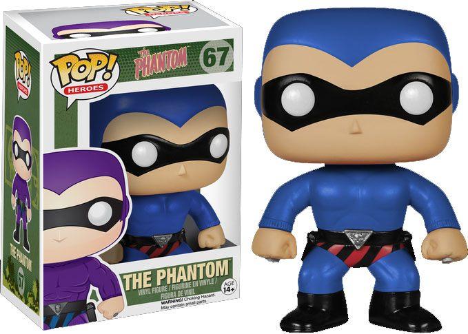 The Phantom POP! Heroes Vinyl Figure The Phantom Blue Costume 10 cm